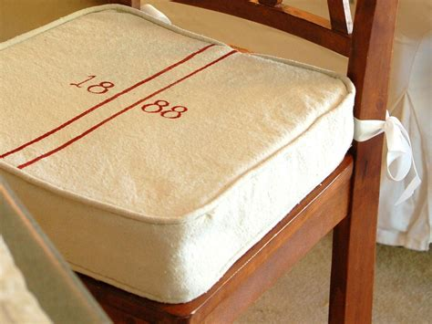 how to make a seat cushion for a bench how to make kitchen chair seat covers hgtv pictures