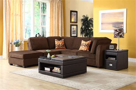 chocolate color sofa living room color schemes chocolate brown couch