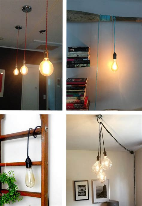 hanging light not hardwired custom pendant light hanging light vintage edison light