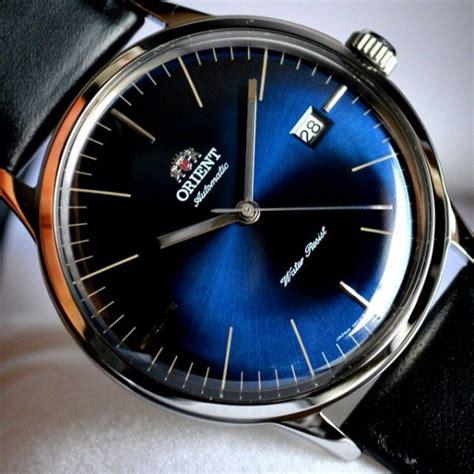Orient Bambino Automatic Blue bnib orient bambino v3 blue er2400ld styleforum
