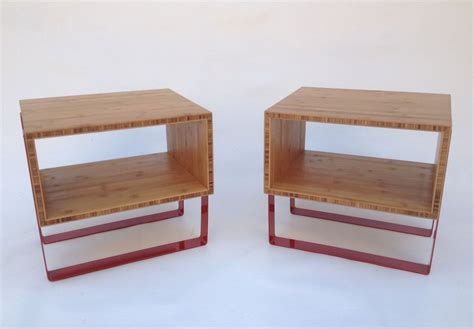 Mid Century Modern Bedside Tables by Buy A Crafted Open Bedside Tables Mid Century