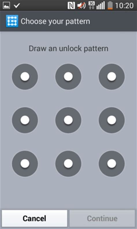 pattern unlock code secure phone lg f70 d315 android 4 4 device guides