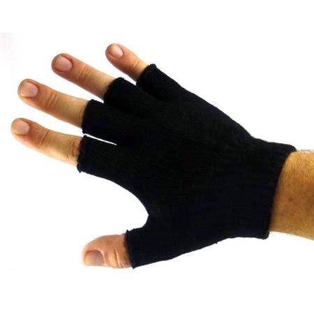 Plain Gloves plain unisex fingerless gloves walmart