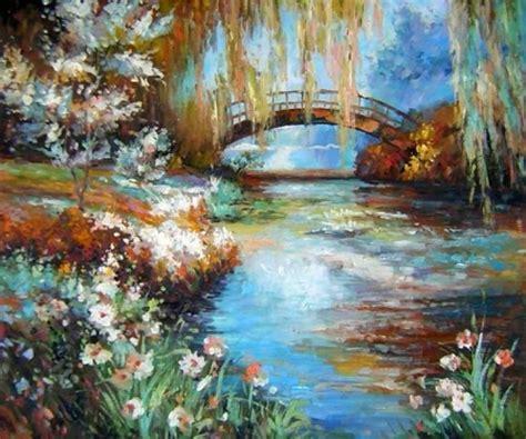 montel landscape obraz most