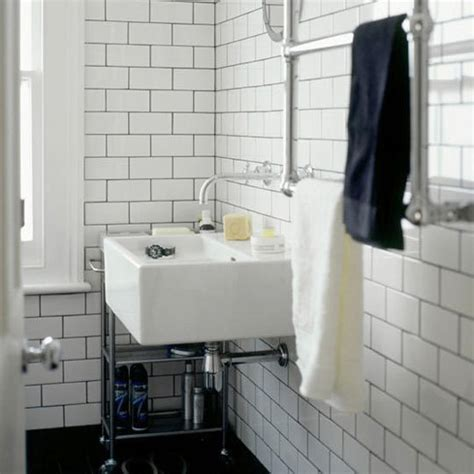 subway wall tile bathroom 26 white bathroom tile with grey grout ideas and pictures