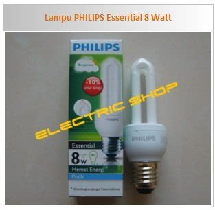 Grosir Lu Philips Essential jual beli lu philips essential 8 watt murah baru