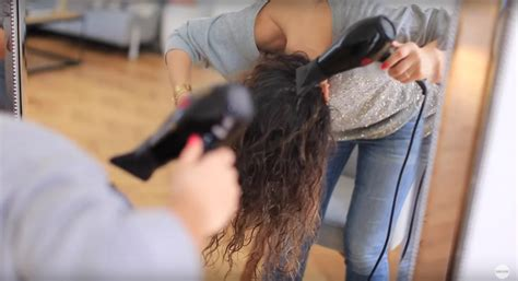 dry hair upside down tbd must know clever hair styling tricks for thin hair