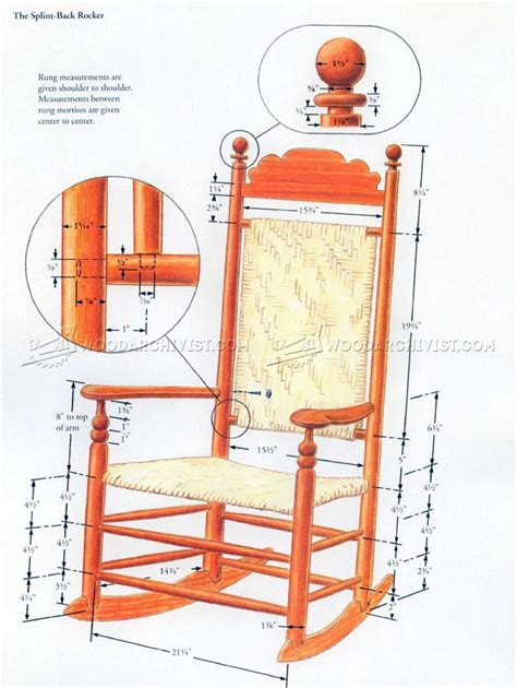 rocking chair plans woodworking wood rocking chair plans woodarchivist