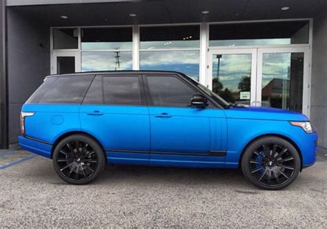 matte orange range rover matte blue range rover imgkid com the image kid