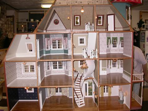 doll house kit glencliff dollhouse kit 665 00 miniature dollhouses