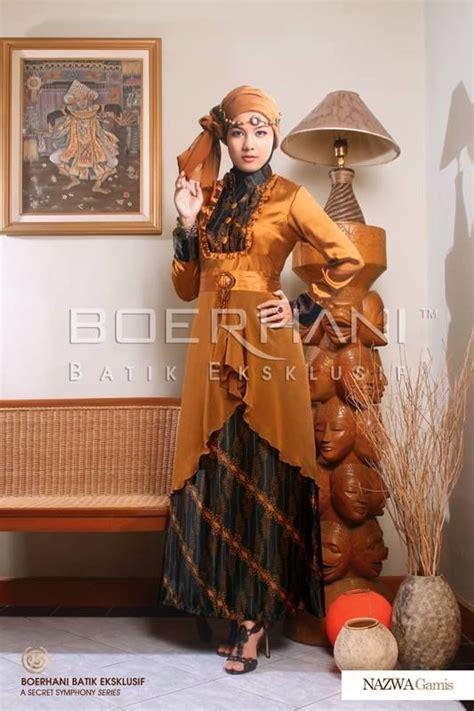 Anggun Coksu http bajupestamuslim net nazwa gaun pesta muslim batik html baju batik pesta