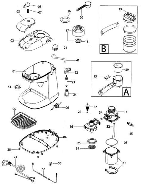Keurig Coffee Maker Parts Diagram images