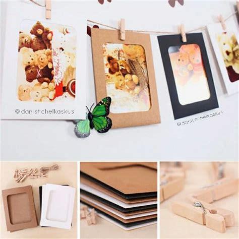 Frem Foto Gantung jual paper set frame foto gantung wooden clip tali di lapak lightdecor lightdecor