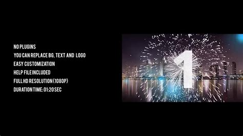 new year photo effect silver new year countdown 2018 videohive 20881545