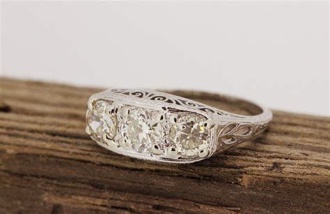 sale antique engagement ring art deco ring edwardian ring
