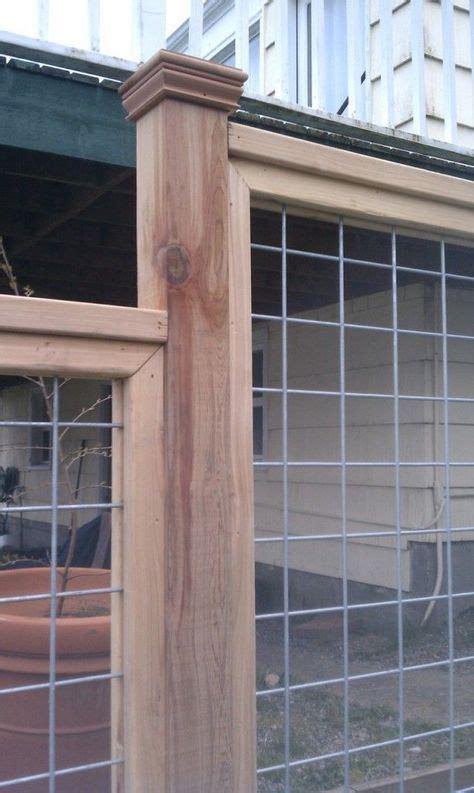 awesome hog wire fence design ideas   backyard