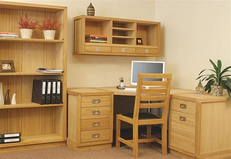solid oak office furniture light oak office furniture