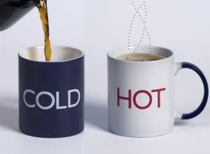 Interesting Coffee Mugs hot or cold which beverages do you prefer