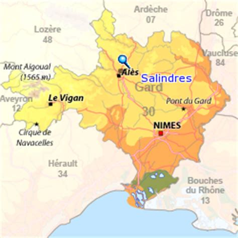 Location vacances Salindres : Locations Salindres