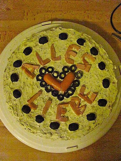 Herzhafter Kuchen Kastenform