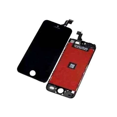 lcd with touch screen for apple iphone 5 black by maxbhi