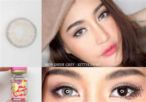Soflens Kawai Mini Sheer Gray mini sheer gray kawaii bbbeautycontact