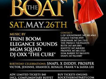 rock the boat nyc rock the boat the nyc memorial day weekend midnight cruise