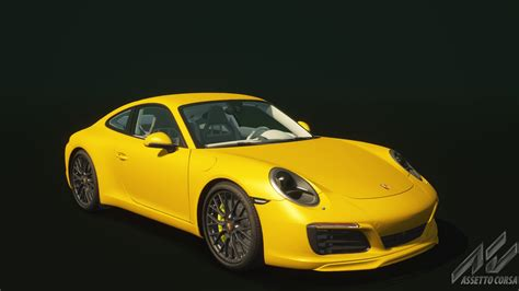 yellow porsche png porsche 911 s porsche car detail assetto