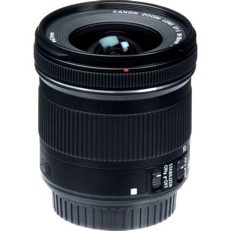 Canon Ef S 10 18 F45 56 Is Stm canon ef s 10 18mm f 4 5 5 6 is stm
