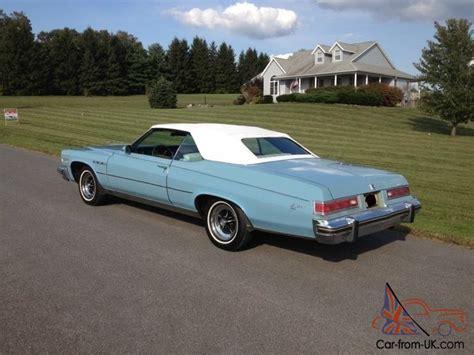buick lesabre 1975 1975 buick lesabre convertible