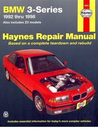 book repair manual 1998 bmw 3 series auto manual bmw 3 series 1992 1998 bmw z3 1996 1998 repair manual haynes