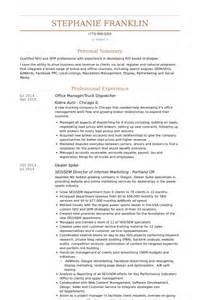 R 233 Partiteur Exemple De Cv Base De Donn 233 Es Des Cv De Visualcv