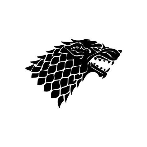 direwolf house stark game  thrones graphics