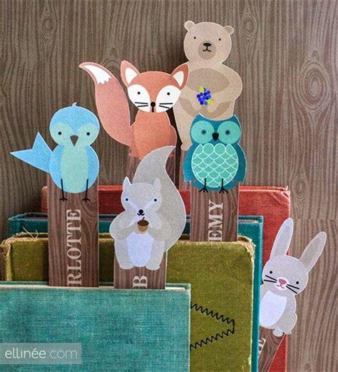 Penanda Buku Animal Set Pulpen membuat sendiri pembatas buku hewan binatang kerajinan gunting tempel anak sd kerajinan anak