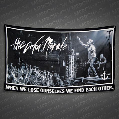 strange comfort the color morale strange comfort wall flag tcmr merchnow your