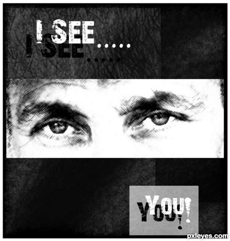 i see you i see you picture by nysoe for cowboy photoshop contest