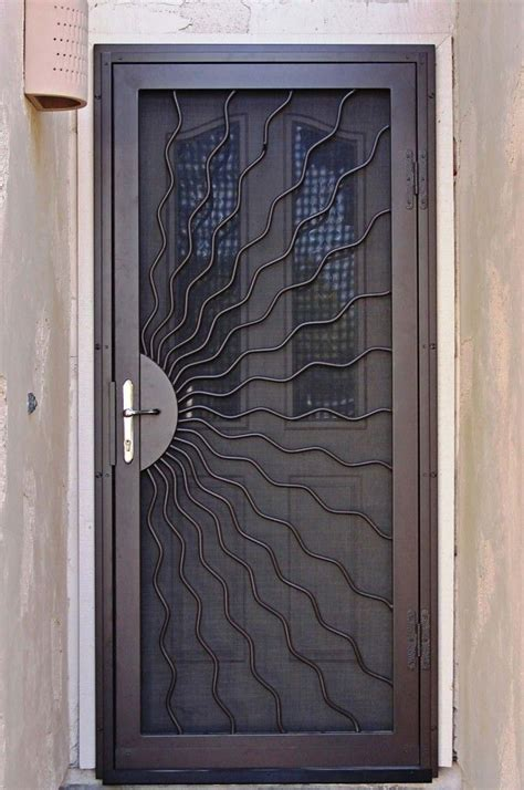 metal door designs 17 best ideas about security door on pinterest safe room safe door and front door locks