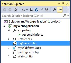 log4net config section การใช งาน log4net ว ธ การจ ดเก บ log ไฟล ต างๆ บน net