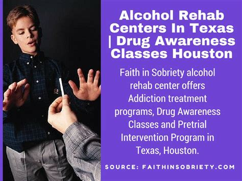 Detox Programs In Houston by Offender Education Program By Faith In Sobriety