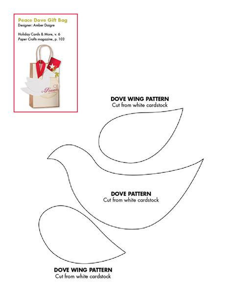 dove of peace template best photos of paper dove template free printable dove