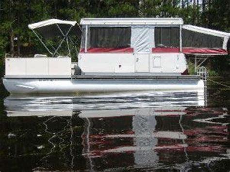 pontoon boat trailer modifications homemade houseboat boat en bum pinterest tent