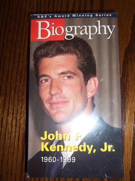 jfk biography documentary a e biography john f kennedy jr documentary vhs