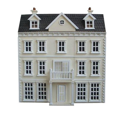 1 24 scale dolls houses streets ahead 1 24th scale trelawney manor unpainted dolls house