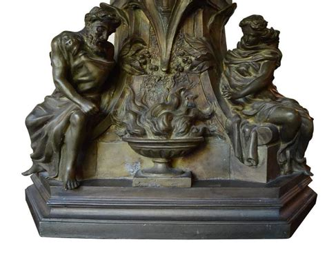 Fireplace Andirons For Sale by Large Bronze Antique Fireplace Andirons For Sale At 1stdibs