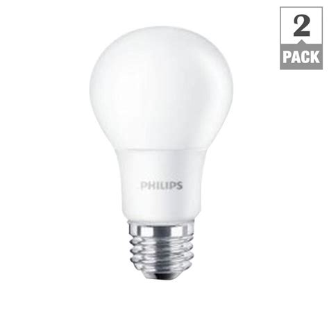 Philips A19 Led Light Bulb Philips 60w Equivalent Soft White A19 Led Light Bulb 2