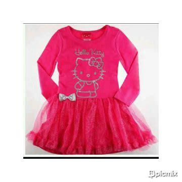 dress pink anak hello baju korea babylittleme s