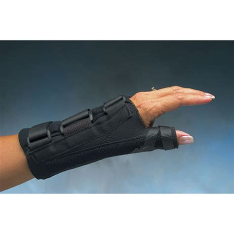 comfort cool hand brace whiteley allcare braces supports wrist and thumb nc91250