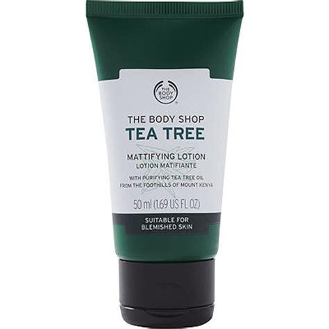 Pelembab Tea Tree The Shop tea tree skin mattifying lotion ulta