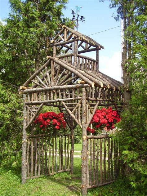 Garden Arbor Made From Branches 1175 Best Pergola Pictures Arbors And Trellis Images On