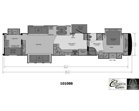fifth wheel cer floor plans 2 bedroom 5th wheel 28 images 2 bedroom fifth wheel